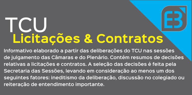 Direito Administrativo – Boletim de Licitações e Contratos TCU
