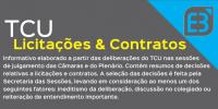 Boletim de Licitações e Contratos TCU